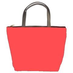 Neon Color - Brilliant Red Bucket Bags
