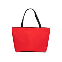 Neon Color - Brilliant Red Shoulder Handbags