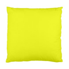 Neon Color - Brilliant Yellow Standard Cushion Case (Two Sides)