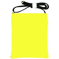 Neon Color - Brilliant Yellow Shoulder Sling Bags