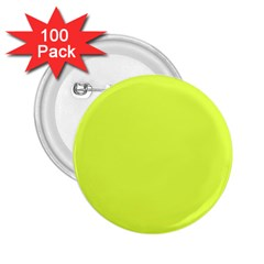 Neon Color - Light Brilliant Apple Green 2.25  Buttons (100 pack)