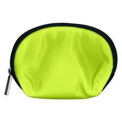 Neon Color - Light Brilliant Apple Green Accessory Pouches (Medium)
