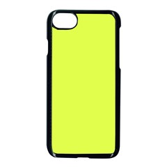 Neon Color   Light Brilliant Apple Green Apple Iphone 7 Seamless Case (black)