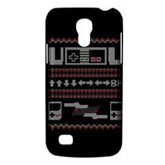 Old School Ugly Holiday Christmas Black Background Galaxy S4 Mini