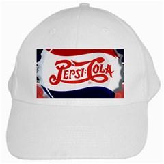 Pepsi Cola White Cap