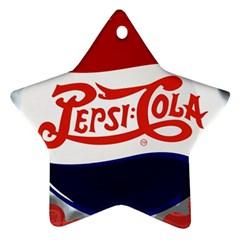 Pepsi Cola Ornament (Star)