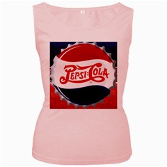 Pepsi Cola Women s Pink Tank Top