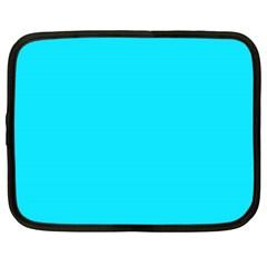 Neon Color   Light Brilliant Arctic Blue Netbook Case (xl)