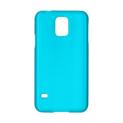 Neon Color - Light Brilliant Arctic Blue Samsung Galaxy S5 Hardshell Case