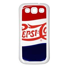 Pepsi Cola Samsung Galaxy S3 Back Case (White)