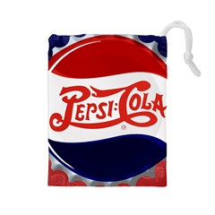 Pepsi Cola Drawstring Pouches (Large)