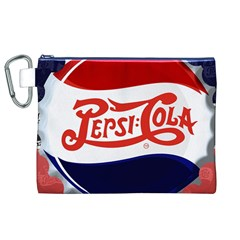Pepsi Cola Canvas Cosmetic Bag (XL)