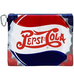 Pepsi Cola Canvas Cosmetic Bag (xxxl)