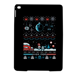 That Snow Moon Star Wars  Ugly Holiday Christmas Black Background iPad Air 2 Hardshell Cases