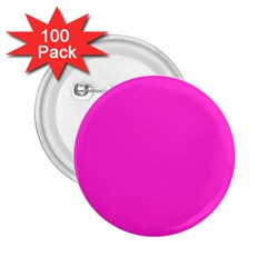Neon Color - Light Brilliant Fuchsia 2.25  Buttons (100 pack)