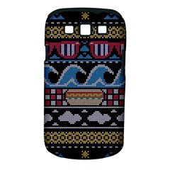 Ugly Summer Ugly Holiday Christmas Black Background Samsung Galaxy S Iii Classic Hardshell Case (pc+silicone)