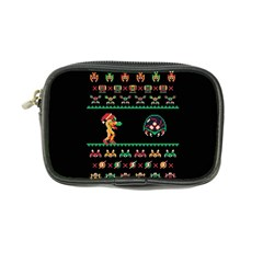 We Wish You A Metroid Christmas Ugly Holiday Christmas Black Background Coin Purse