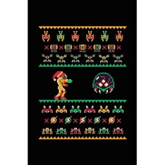 We Wish You A Metroid Christmas Ugly Holiday Christmas Black Background 5.5  x 8.5  Notebooks