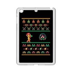 We Wish You A Metroid Christmas Ugly Holiday Christmas Black Background Ipad Mini 2 Enamel Coated Cases