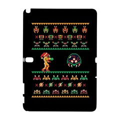 We Wish You A Metroid Christmas Ugly Holiday Christmas Black Background Galaxy Note 1