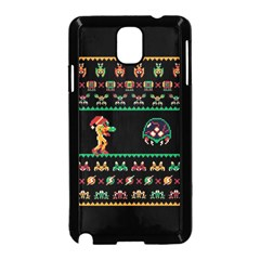 We Wish You A Metroid Christmas Ugly Holiday Christmas Black Background Samsung Galaxy Note 3 Neo Hardshell Case (black)