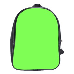 Neon Color - Light Brilliant Harlequin School Bags (XL)