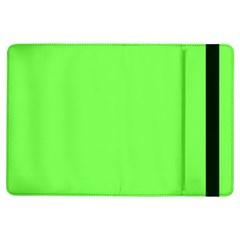 Neon Color - Light Brilliant Harlequin iPad Air Flip
