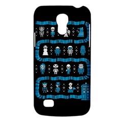 Who Is Outside Ugly Holiday Christmas Black Background Galaxy S4 Mini