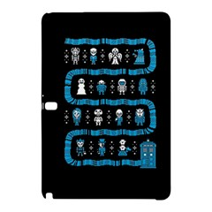 Who Is Outside Ugly Holiday Christmas Black Background Samsung Galaxy Tab Pro 12.2 Hardshell Case