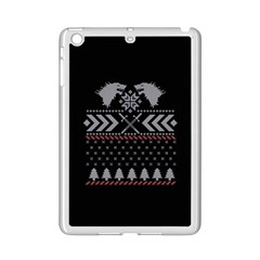 Winter Is Coming Game Of Thrones Ugly Christmas Black Background Ipad Mini 2 Enamel Coated Cases
