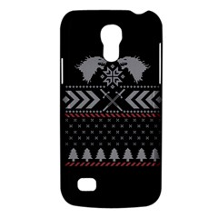 Winter Is Coming Game Of Thrones Ugly Christmas Black Background Galaxy S4 Mini
