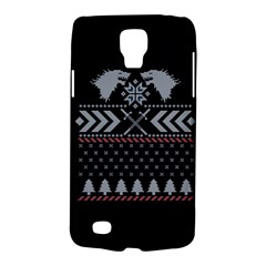 Winter Is Coming Game Of Thrones Ugly Christmas Black Background Galaxy S4 Active
