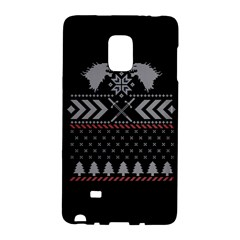 Winter Is Coming Game Of Thrones Ugly Christmas Black Background Galaxy Note Edge