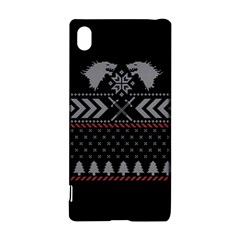 Winter Is Coming Game Of Thrones Ugly Christmas Black Background Sony Xperia Z3+