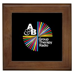 Above & Beyond  Group Therapy Radio Framed Tiles