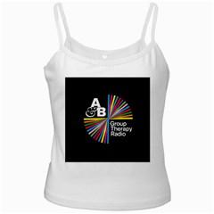 Above & Beyond  Group Therapy Radio White Spaghetti Tank