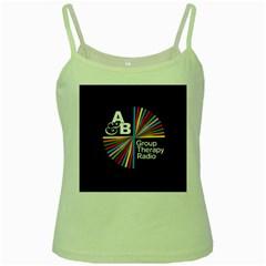 Above & Beyond  Group Therapy Radio Green Spaghetti Tank