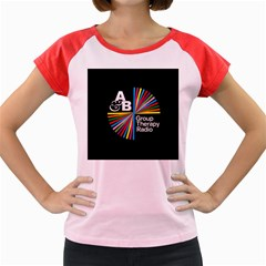 Above & Beyond  Group Therapy Radio Women s Cap Sleeve T Shirt