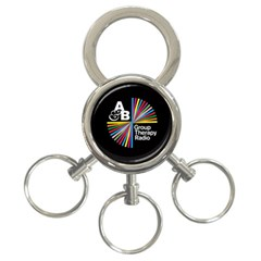 Above & Beyond  Group Therapy Radio 3-Ring Key Chains