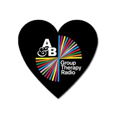 Above & Beyond  Group Therapy Radio Heart Magnet