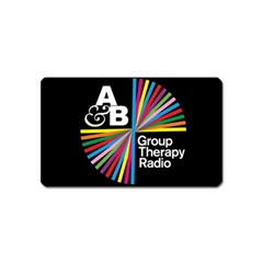 Above & Beyond  Group Therapy Radio Magnet (Name Card)