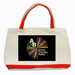 Above & Beyond  Group Therapy Radio Classic Tote Bag (red)
