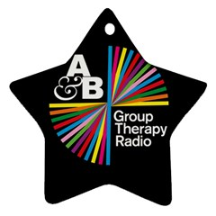 Above & Beyond  Group Therapy Radio Star Ornament (two Sides)