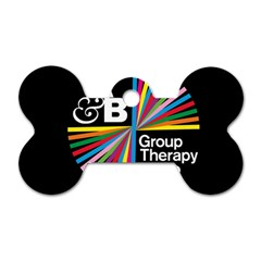 Above & Beyond  Group Therapy Radio Dog Tag Bone (two Sides)