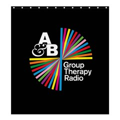 Above & Beyond  Group Therapy Radio Shower Curtain 66  x 72  (Large)