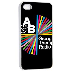 Above & Beyond  Group Therapy Radio Apple iPhone 4/4s Seamless Case (White)