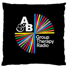 Above & Beyond  Group Therapy Radio Large Cushion Case (One Side)