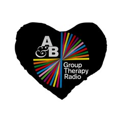 Above & Beyond  Group Therapy Radio Standard 16  Premium Heart Shape Cushions