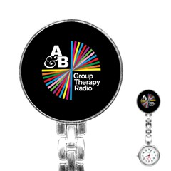 Above & Beyond  Group Therapy Radio Stainless Steel Nurses Watch