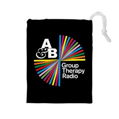 Above & Beyond  Group Therapy Radio Drawstring Pouches (Large)
